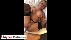 Horny Housewife Jenna Justine Gangbanged by Construction Workers Thumb