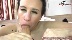 Naughty Normal everyday girl chats and hangs then sucks cock Thumb