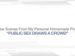 PUBLIC SEX DRAWS A CROWD - EXHIBITIONIST VOYEUR Thumb