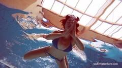 Naughty teen Martina swims naked underwater Thumb