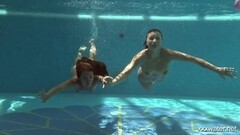 Hot underwater lesbos Serbian and Russian Thumb