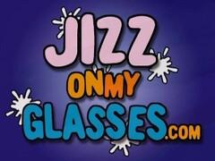 Indie Girl in Glasses Sucks Cock & Facial Thumb