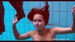 Cute Nata swims and shakes her ass Thumb