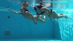 Jessica and Lindsay swimming naked Thumb