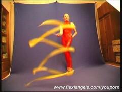 Russian Ballerina Maria showing flexi Thumb