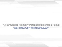 GETTING OFF WITH MALEZIA – BISEXUAL BABES LESBO Thumb