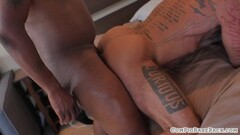 Sexy GILF and Teen fucked by security guard Thumb
