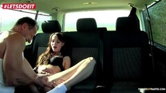 Chelsy Sun gets seduced and fucked in taxi car Thumb