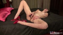 Housewife masturbating compilation video Thumb