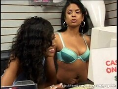 Black Lesbians Take Each Other To Orgasm With Feet Thumb