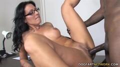 Horny Cougar Zoey Holloway Takes On Big Black Cock Thumb