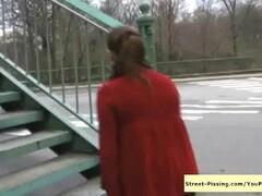Pissing On a Bridge Thumb