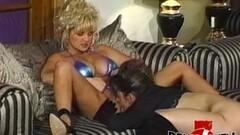 Lesbian enjoys Anal dildo penetration Thumb