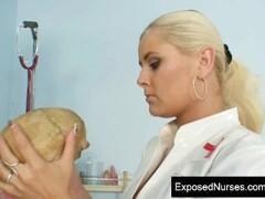 Alexa Bold big tits nasty nurse pussy masturbation Thumb