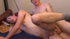 Cute Spencer and Dalton Fuck Thumb