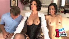 Brunette Mary Gets Jizz On Her Tits Thumb