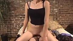 Ebony Desiree Diamond Sucks A Fat White Cock Thumb