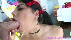 Kinky Jessica Jaymes and Abigail mac strip a fuck for you Thumb