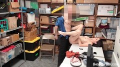Blonde babe sucking hard cock Thumb