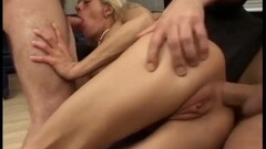 Blonde lesbians girls Shauna Skye and Cali Sparks licking pussy Thumb