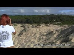 Saucy blonde Jasmine Tame sprayed with cum Thumb