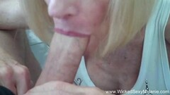 Wild babe rides this hard cock Thumb