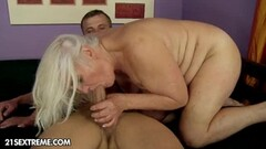 Retro lesbian get fingered and licked Thumb
