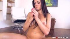 Horny Mom striptease POV anal sex Thumb
