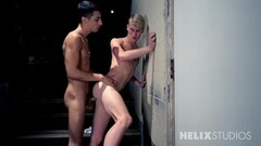 Petit blonde czech girl gets fucked and creampie Thumb