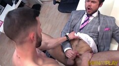 Frisky Businessmen Ass Fuck While Wearing Suits Thumb