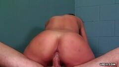 Sexy Bella Blaze is pleasing a guy who isn't her partner Thumb