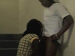 Security tapes Janitor Fuckin YOUNG Girl on Stairs Thumb