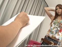 Painters model Rino Asuka fucks artist Thumb