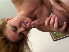 Selena Silver blows her way to a gold Dick (clip) Thumb