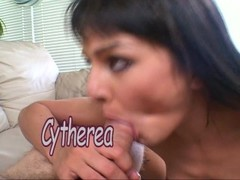 Cytherea tries to make cock stand tall Thumb
