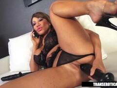 Simone Titty Fucks And Rides Merlins Wand Thumb