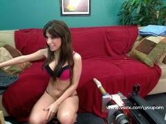 Pornstar Alexa Nicole live fucking machine cam Thumb