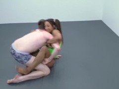 Hairy armpit FBB Wrestles guy Thumb