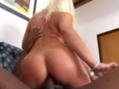 Melanie Crush, Big ass blonde bimbo shadow stick ass ram Thumb