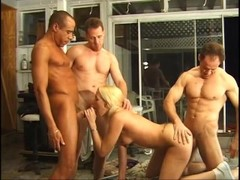 Blondie gets every hole of hers filled - Pandemonium Thumb
