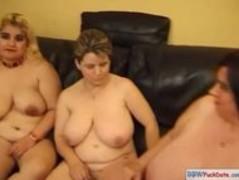 BBW threesome French lesbians Thumb