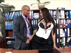 Office secretary fucked in stockings and heels Thumb