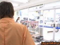Ayane Asakura Asian MILF has public sex part2 Thumb