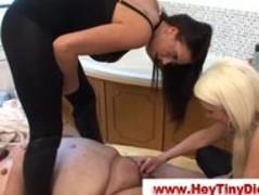 Cfnm femdom small dick humiliation Thumb