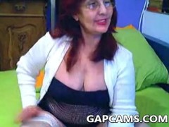 Amateur Greek granny webcam show Thumb