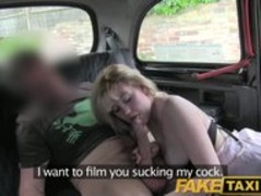 FakeTaxi Hairy minge surprise for randy taxi driver Thumb