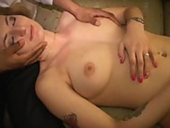 Little pregnant MILF licks Natasha's cunt Watches her squirt Longest upload Thumb