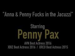 Pussy Pleasurer Penny Pax Fucks Lesbian Lover Anna DeVille! Thumb