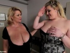 BBW Cougar Dildos Sexy Plump Busty Babe in Hotel Room Thumb