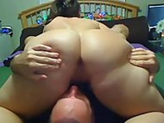 Amature BBW Milf on Cam with Hubby Thumb